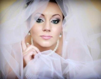 Свадебный макияж видео.